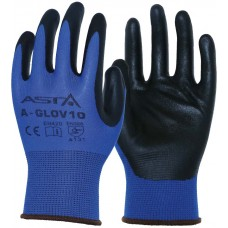 Масло-бензо стойкие перчатки 10разм.(нейлон) 12пар, уп. ASTA A-GLOV10 (12x)