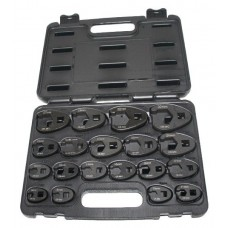 Набор ключей для тормозных, гидравлических проводов 19ед. ASTA A-6900A-19M