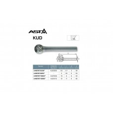 Фреза шаровая 10X54мм KUD DIN8033 ASTA A-MD78710654