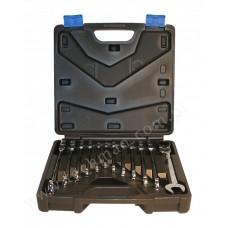 Набор ключей комбинир. шарнирно-трещоточных 12ед. ASTA A-FRS12MF
