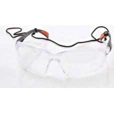 Очки защитные, прозрачное стекло SATRA S-SG13