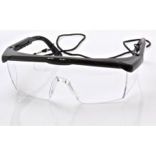Очки защитные, прозрачное стекло SATRA S-SG014